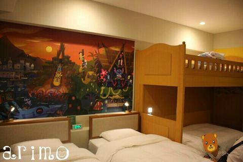 """東京ディズニーセレブレーションホテル""""ディスカバー"""" クインテットルーム"""